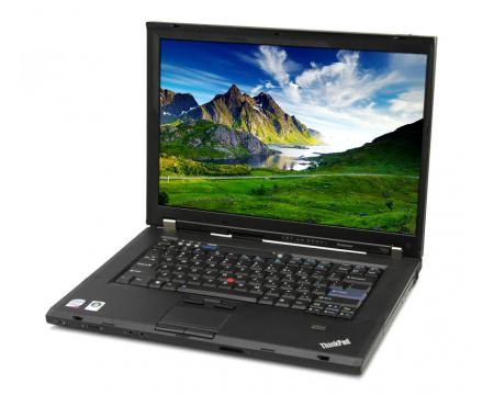 "Lenovo  ThinkPad T500 15.4"" Laptop Intel Core 2 Duo (P8400) 2.26GHz 4GB DDR3 160GB HDD - Grade C"