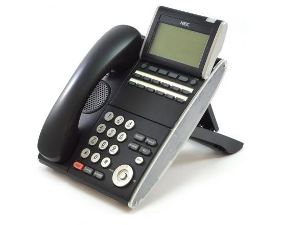 NEC DT300 DTL-12D-1 12 Button Display Phone Black (680002) - Grade A