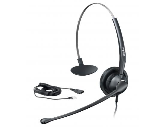 Yealink YHS33 RJ9 Corded Noise Canceling Monaural Headset
