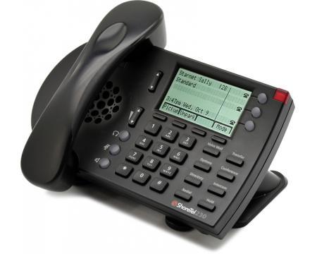 ShoreTel 230 Black IP Phone - Grade B