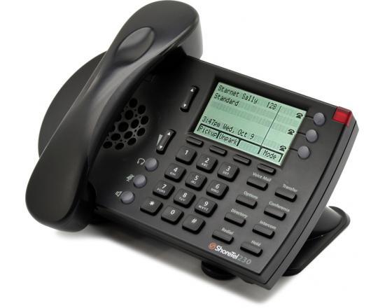 ShoreTel ShorePhone 230 IP Black Phone - Refurbished