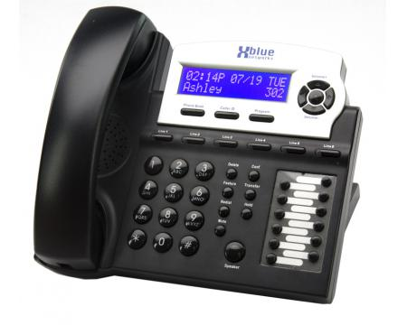 XBlue Networks X16DTE 6-Line Digital Display Speakerphone Charcoal (1670-00)
