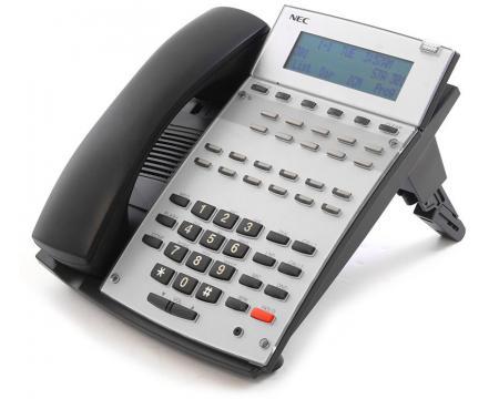 NEC  Aspire IP1NA-12TXH 22-Button Black Display Phone (0890043) - Grade B