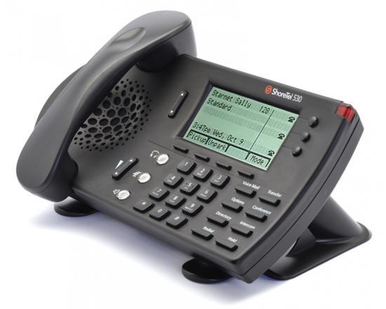 ShoreTel IP530 Black IP Display Phone - Grade A