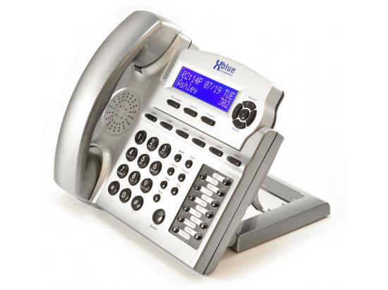 Xblue Networks X16DTE-TM 6-Line Digital Display Speakerphone Titanium (1670-86)