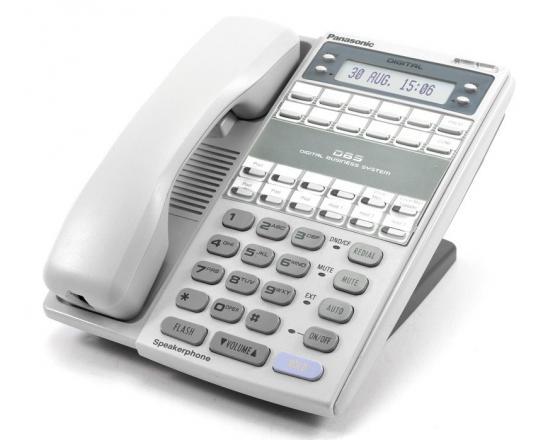 Panasonic DBS VB-44223-G Grey 22-Button Digital Display Speakerphone - Grade A