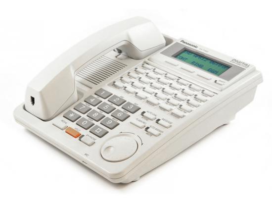 Panasonic Digital Super Hybrid KX-T7453 White Backlit Display Speakerphone
