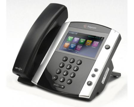 """Polycom VVX 601 Gigabit IP Phone (2200-48600-025) """"Grade B"""""""