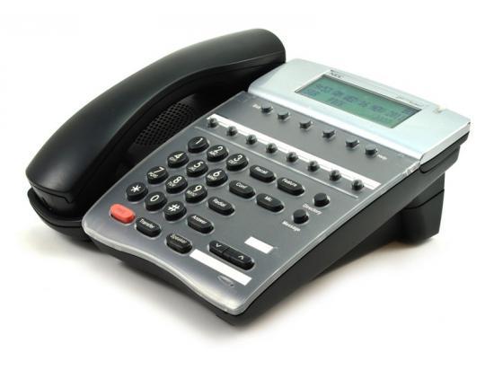 NEC DTerm Series i DTR-8D-2 Series I Black Display Speaker Phone (780040)