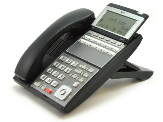 NEC UX5000 IP3NA-12TXH 12-Button Black Digital Display Speakerphone - Grade B