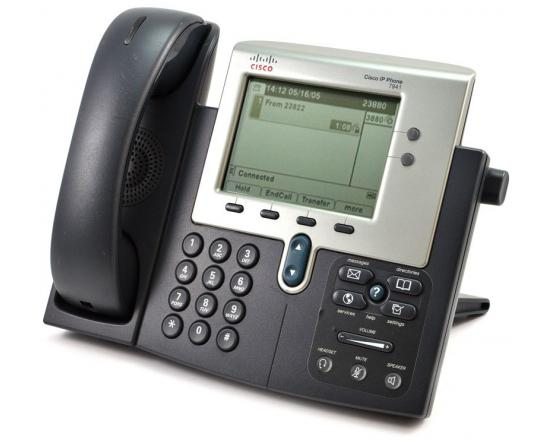 Cisco CP-7941G Charcoal IP Display Speakerphone - Grade A