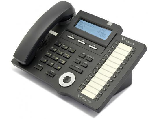 Vertical  Edge 700 24-Button Black Digital Display Speakerphone - Grade B