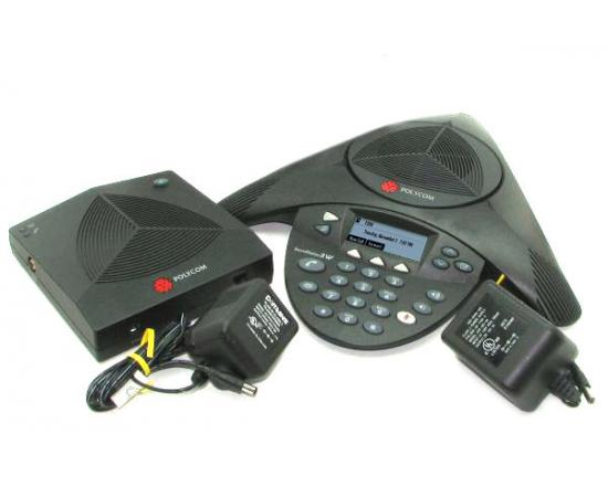 Polycom SoundStation 2W EX 2.4GHz Wireless Conference Phone (2200-07800-001, 2201-67800-022, 2201-07800-022)