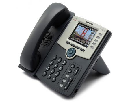 SPA525G Charcoal IP Color Display Speakerphone - Grade A