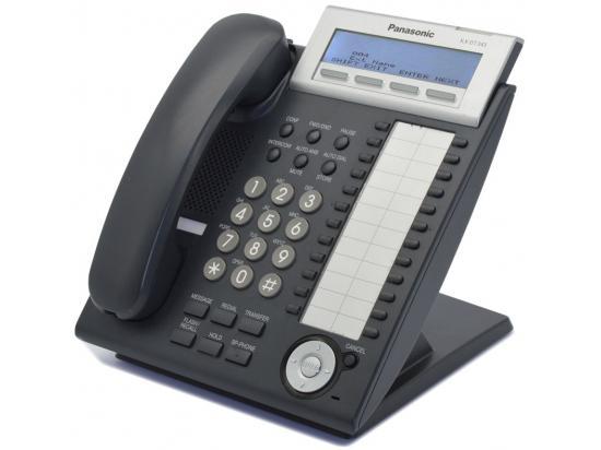 Panasonic KX-DT343-B 24-Button Charcoal Digital Display Speakerphone - New