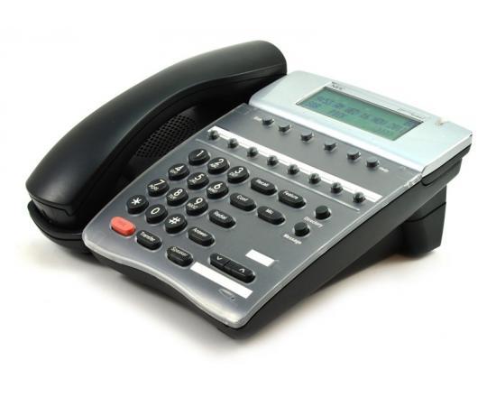"""NEC DTR-8D-2 Black Display Phone (780040) """"Grade B"""""""