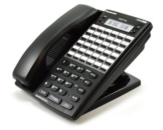 "Panasonic DBS VB-44233-B 34 Button Display Phone Black ""Grade B"""