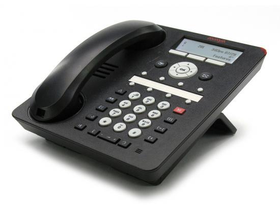 Avaya 1408 Black Digital Display Global Phone (700504841) - Icon Keys