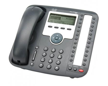Cisco 7931 IP Phone CP-7931G with Handset//Cord//Cable /& Stand