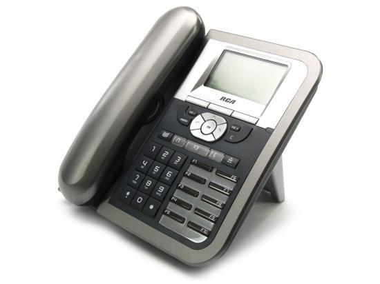 RCA 25630RE1 Black/Silver IP Display Speakerphone - Grade A