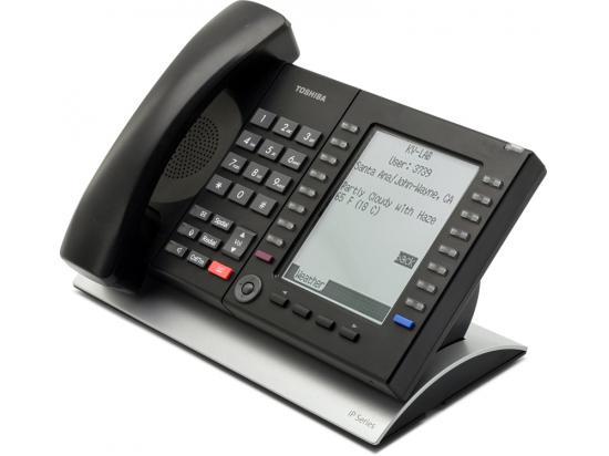 "Toshiba Strata IP5531-SDL 20-Button IP Display Speakerphone ""Grade B"""