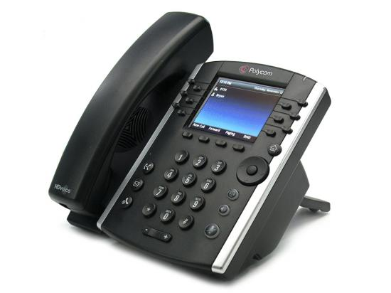Polycom VVX 401 12-Line IP Phone (2200-48400-025, 2201-48400-001) - Grade B