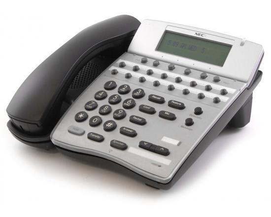 NEC DTH-16D-2 Elite IPK 16 Button Black Display Speakerphone  (780575, 785575) - Grade A