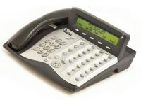 Tadiran Coral Flexset 281S Charcoal Display Phone - Silver Face
