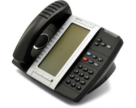 Mitel 5330e Black Gigabit IP Display Speakerphone - Broadview - Grade A