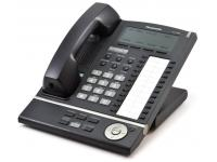 Panasonic KX-T7636-B Black 24-Button Backlit Display Speakerphone