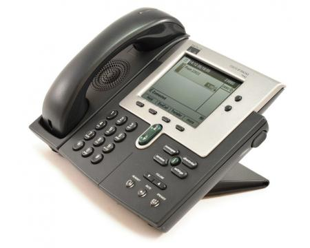 Cisco CP-7940G Charcoal IP Display Speakerphone - Grade A