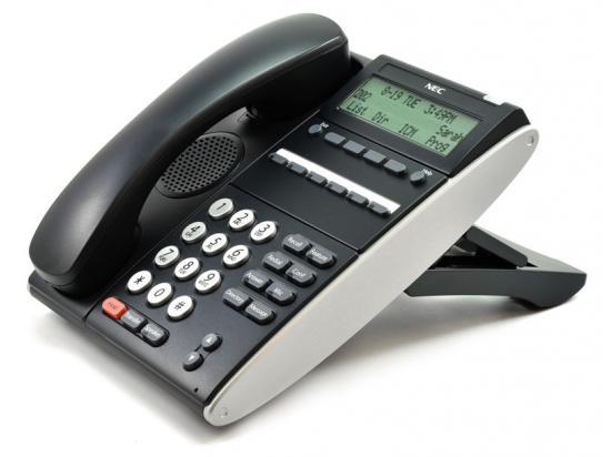 """NEC Univerge DT300 DTL-6DE-1 Black 6-Button Display Speakerphone (680001) """"Grade B"""""""