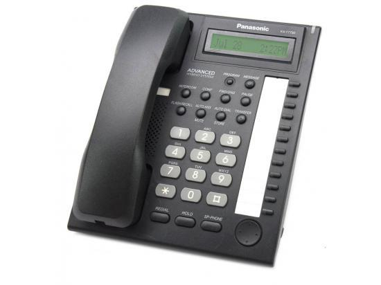 Panasonic KX-T7730X-B Black Digital Display Speakerphone - Grade A