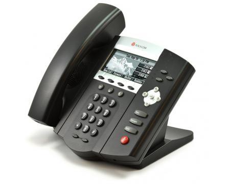 "Polycom SoundPoint IP 450 VoIP PoE Phone (2201-12450-001) ""Grade B"""