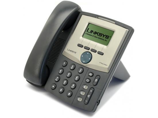 Cisco SPA921 Charcoal IP Display Speakerphone - Grade A