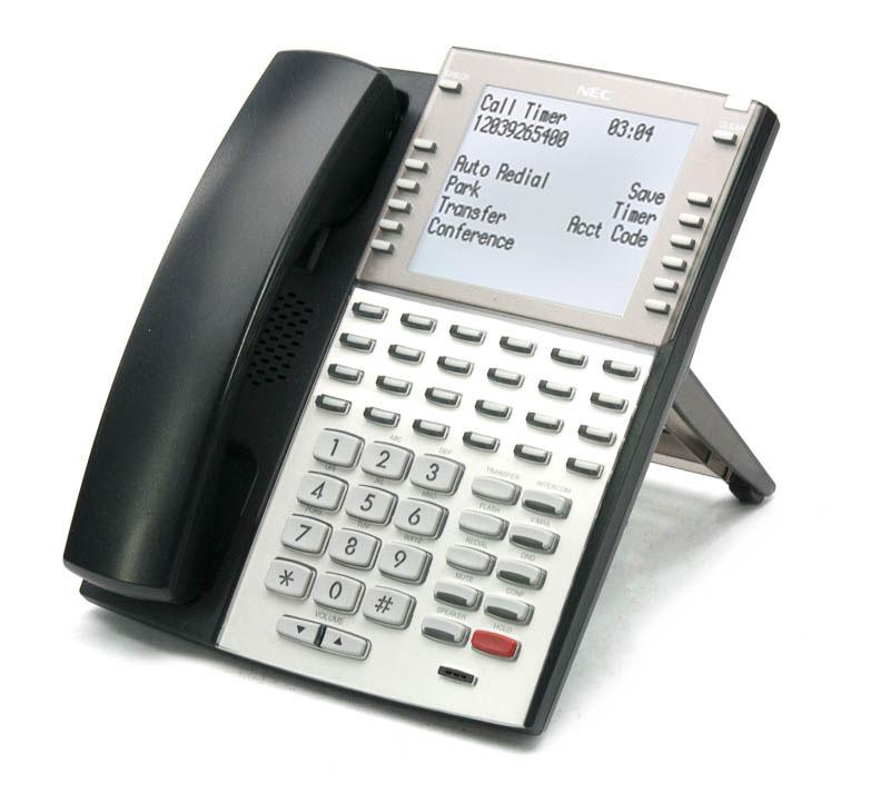 NEC DSX Phone Handset Received VoIP IP 34B 1090034 1090035 Black NEW Warranty