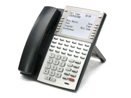 NEC DSX 34-Button Black VoIP Backlit Super Display Phone (1090035)