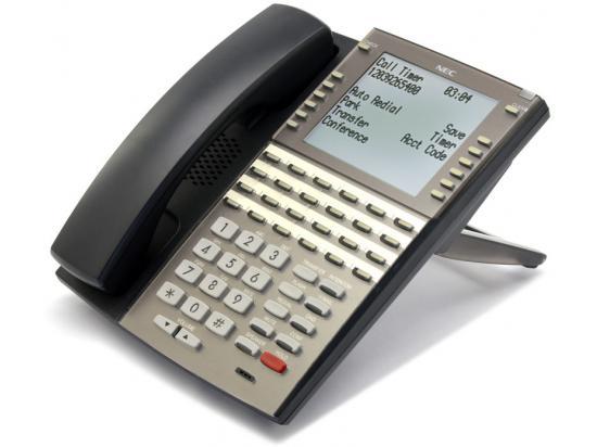 NEC DSX DX7NA-34BTSXBF 34-Button Black Digital Display Speakerphone - Grade A