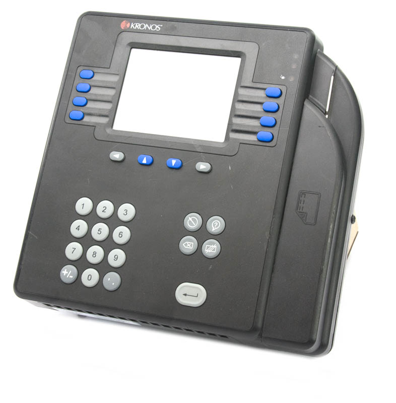 Kronos System 4500 Kronos Touch ID Time Clock Terminal