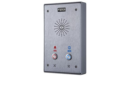 Fanvil i12 SIP Audio Intercom - Two Button