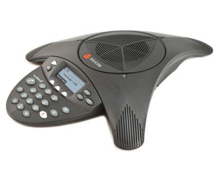 """Polycom SoundStation 2 LCD Conference Phone (2201-16000-001) """"Grade B"""""""