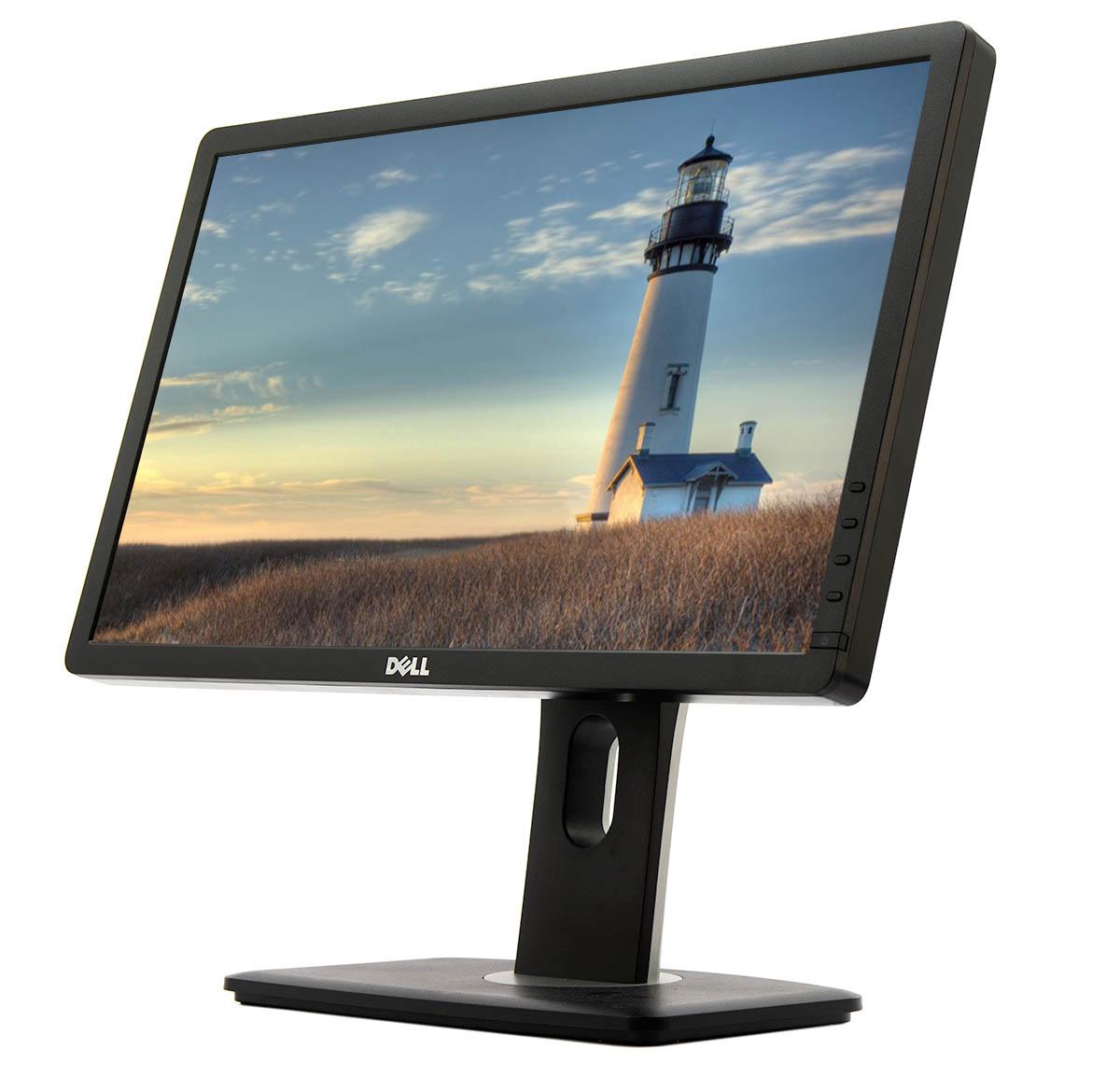 """Dell P2012Ht 20/""""  LCD Flat Panel Monitor Display VGA w// Cords Grade A"""