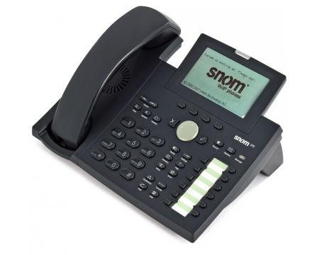 Snom 370 IP Phone (SNO-370-BK)