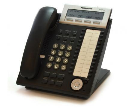 "Panasonic KX-NT343-B Black Backlit Display VoIP Phone ""Grade B"""