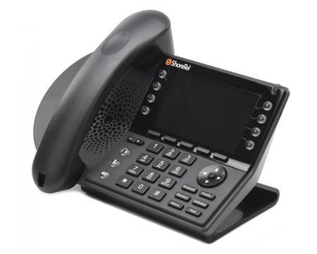 ShoreTel 485G IP Backlit Color Display Phone - Mitel Branded - Grade B