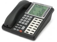 Toshiba Strata DKT3014-SDL 14-Button Charcoal Large Silver Display Speakerphone