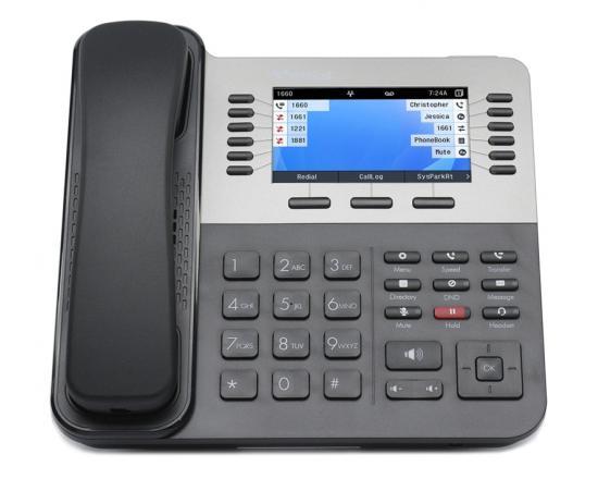 Vertical Edge 9840 24-Button Black SIP IP Speakerphone - Wave