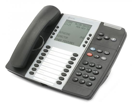"""Mitel 8568 LCD Digital Phone (50006123) """"Grade B"""""""