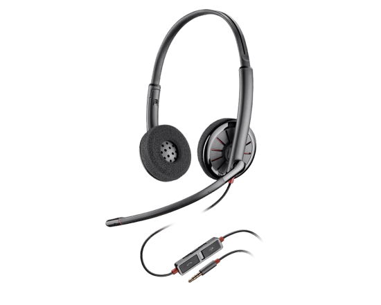Plantronics Blackwire 225 3.5mm Binaural Headset