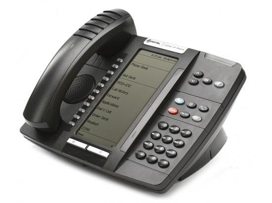 """Mitel 5320e IP Dual Mode Large Display Gigabit Phone (50006474) """"Grade B"""""""